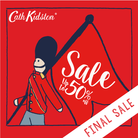 Promotion Cath Kidston Final Sale up to 50% Off [Jan.2016]