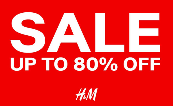 Promotion H&M Final Sale up to 80% off [Jan.2015]
