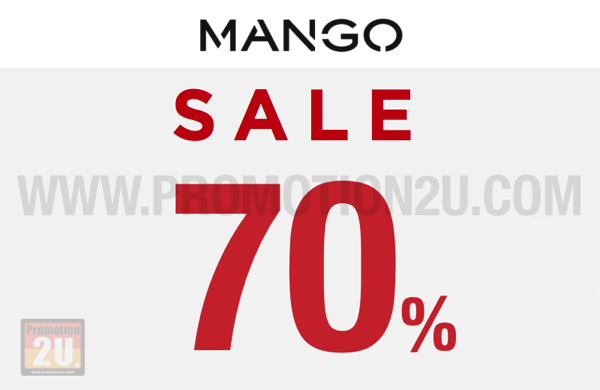 Promotion Mango End of Season Sale up to 70% off [Jun.2016]