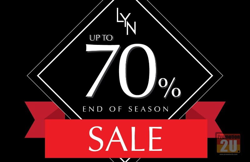 Promotion LYN End Of Season Final Sale up to 70% Off [Ja.2016]