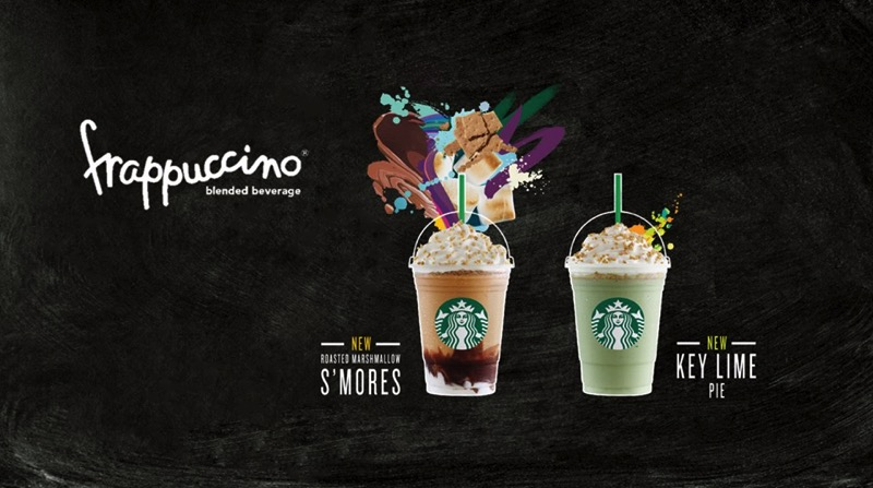 Promotion Starbucks Frappuccino Happy Hour Save 50 [May.-June.2016] Menu4
