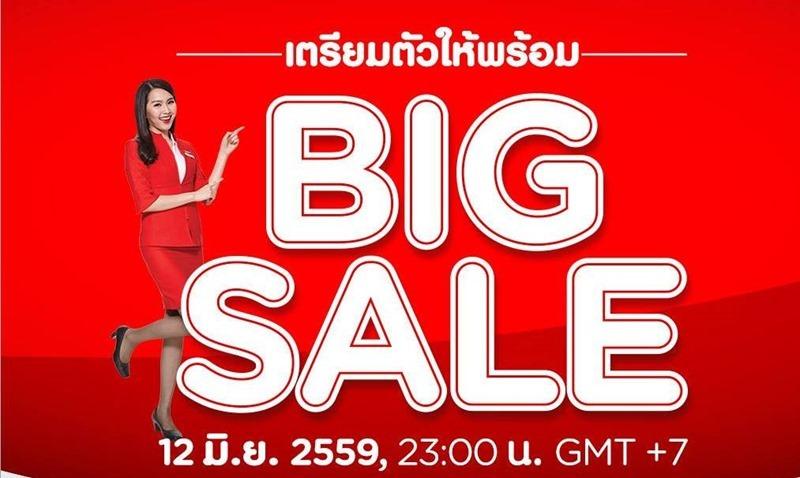 airasia big sale on airasia thailand