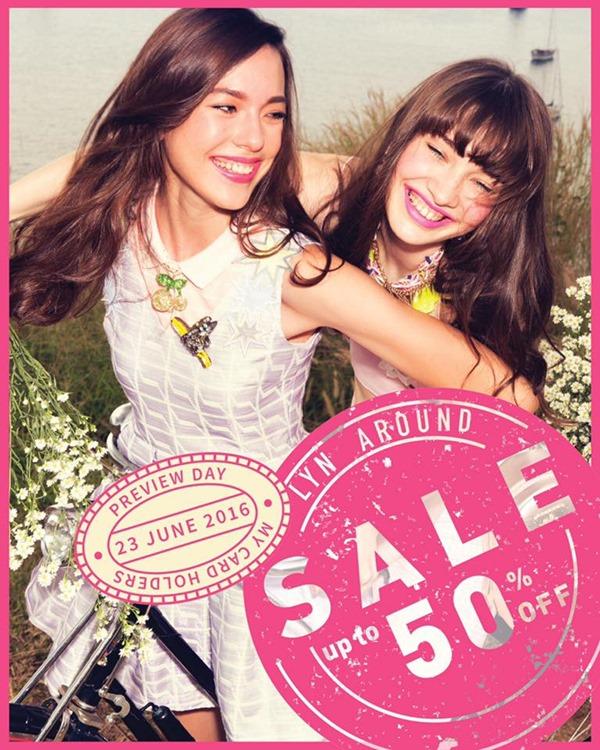 โปรโมชั่น Lyn Around End Of Season Sale ลด 50% [มิย.59]