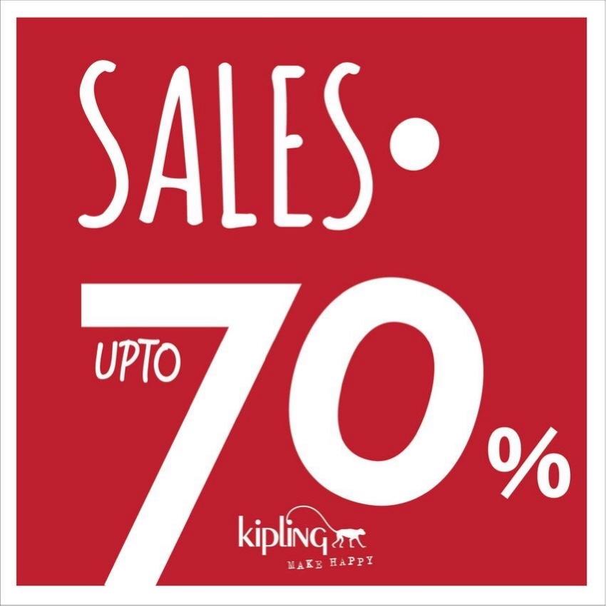 โปรโมชั่น Kipling Mid Year Sale ลดสูงสุด 70% Off (มิ.ย.59)