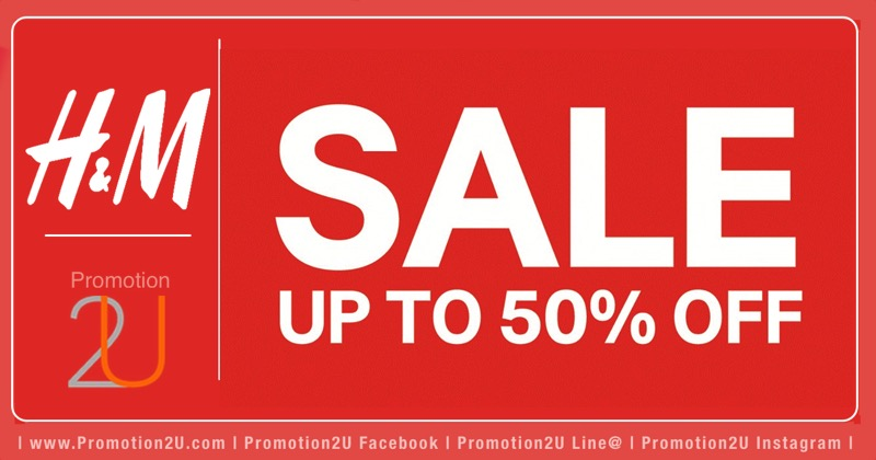 Promotion H&M End of Season Sale up to 50% [Jun.2016]