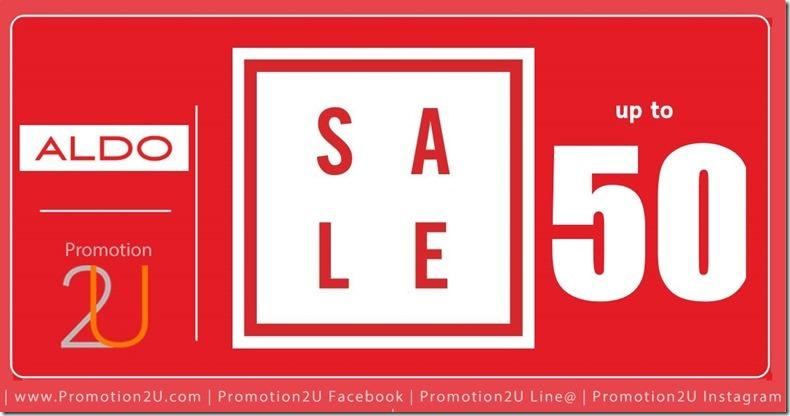 Promotion Aldo End of Season Sale up to 50% Off [Jun.2016]