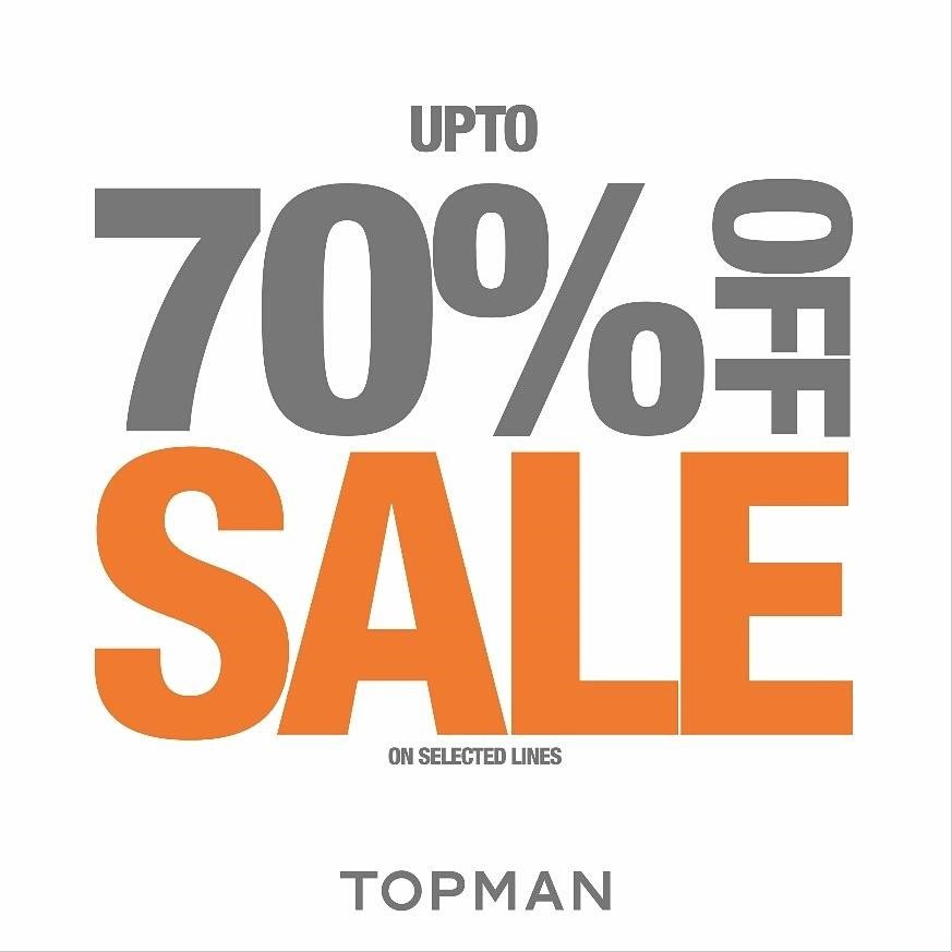 Promotion TOPMAN End Of Season Final Sale up to 70 off [Jun.2016] full
