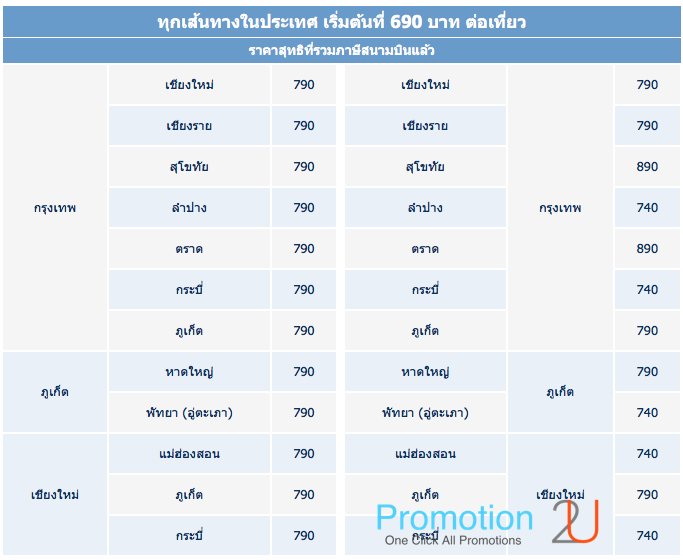Promotion Bangkok Airways 2016 Special Deal! More than Thanks Fly Started 690.- Domestics