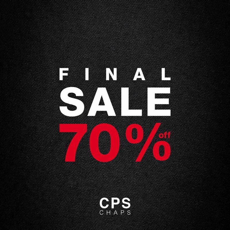 โปรโมชั่น CPS CHAPS End of Season Sale ลด 70% (กค.59)