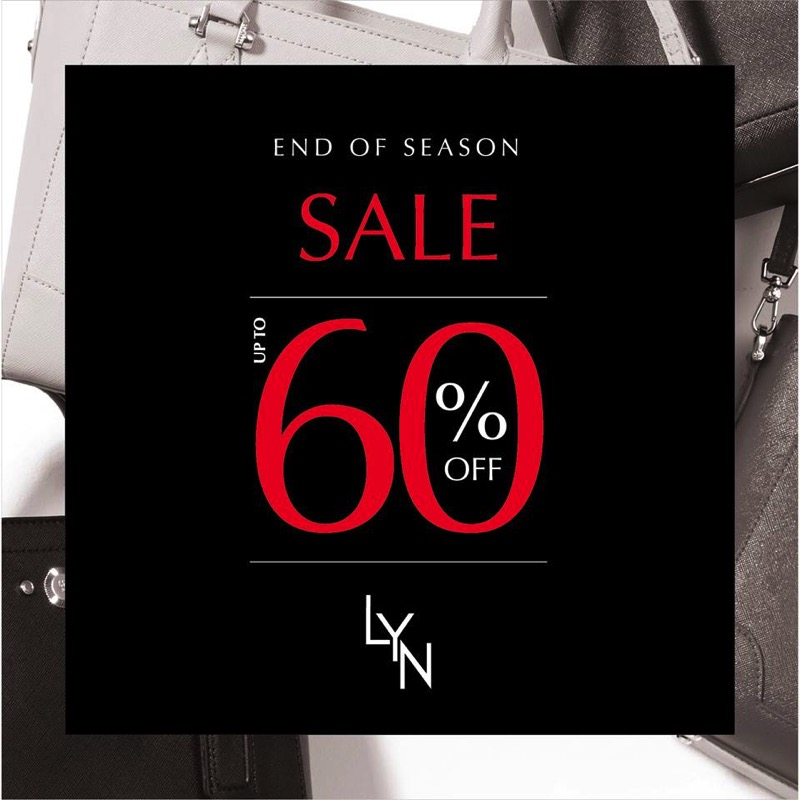 Promotion Lyn End of Season Sale up to 60% [July.2016]