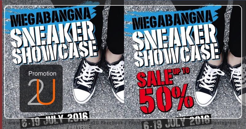 Promotion Sneaker Showcase 2016 Sale up to 70% Off @ MEGA Bangna