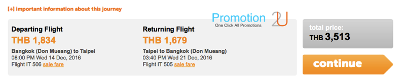 Promotion Tiger Air Pay Day Celebrate Free Visa Fly Started 1,099.- NET Price