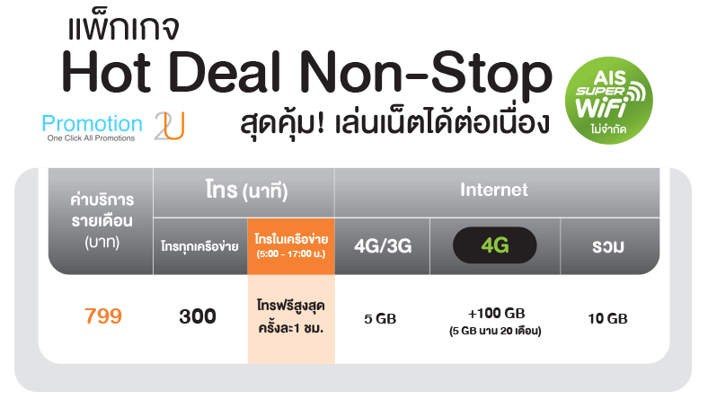 promotion-ais-pre-paid-to-post-paid-get-special-discount 4G Hot Deal Hotdeal799