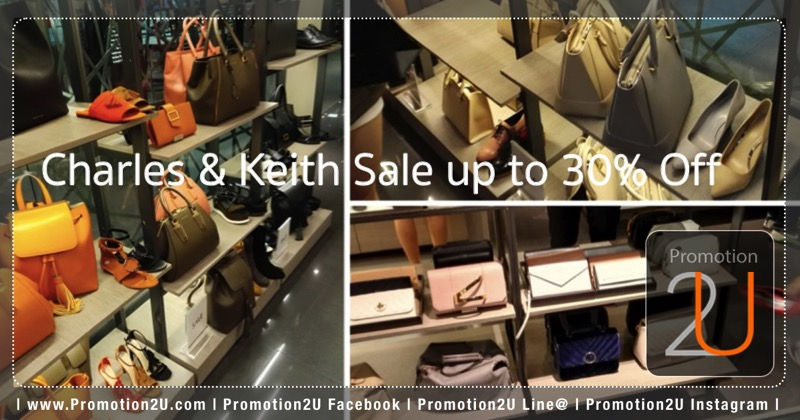 Promotion Charles & KeithbEnd of Season Sale up to 30% Off [Dec.2016]