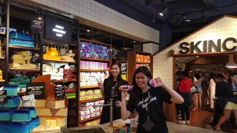 Promotion LUSH Thailand 1st Store P15
