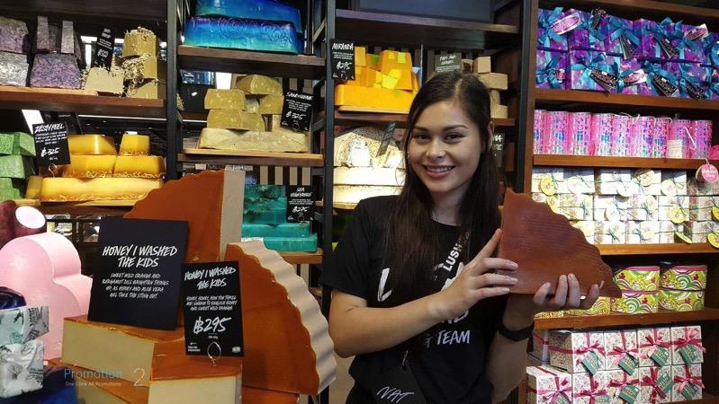 Promotion LUSH Thailand 1st Store P18