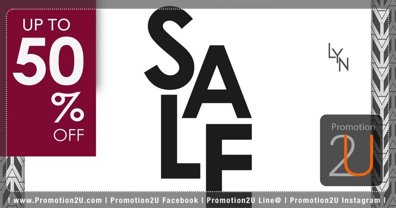 Promotion Lyn End of Season Sale up to 50% Off [Dec.2016]