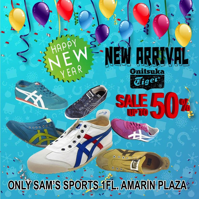 Promotion Onitsuka Tiger New Year Sale up to 50 Sam s Sports