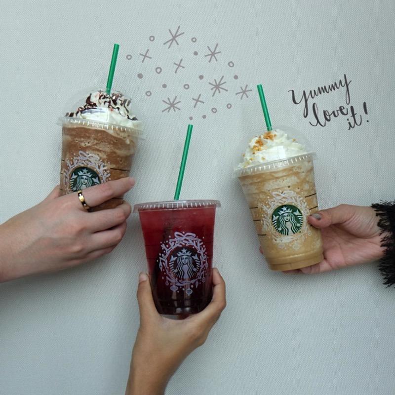 โปรโมชั่นสตาร์บั๊คส์ ซื้อเครื่องดื่ม Starbucks 2 แก้ว รับฟรี 1 แก้ว (12-18 ธค.59)