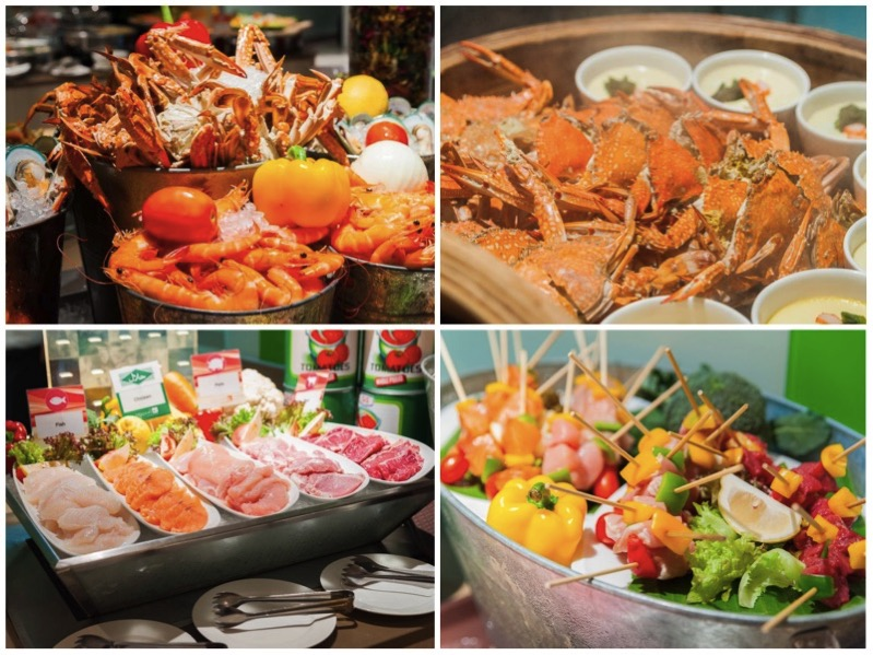 Promotion seafood steak buffet come 2 pay 1 the square novotel silom P1
