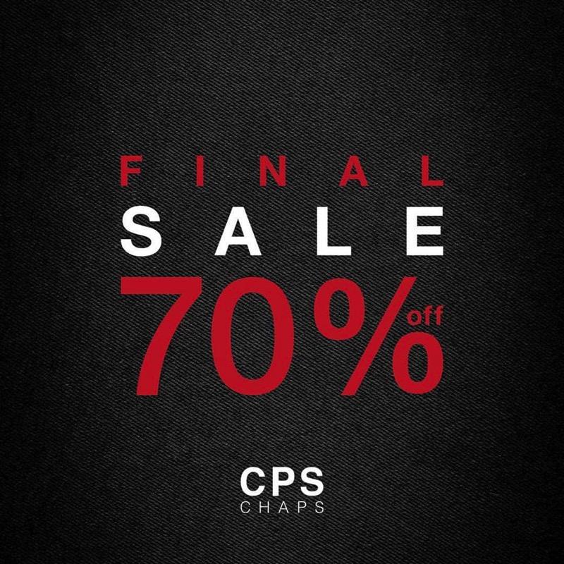 Promotion CPS CHAPS End Of Season Final Sale 70  Jan 2017 FULL