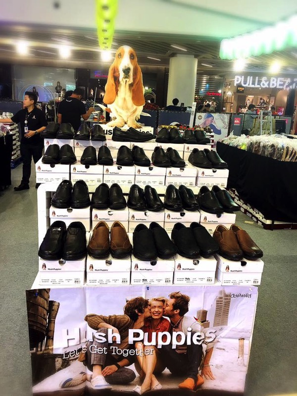 Promotion Hush Puppies Shoes Sale up to 60 Off at Central Rama9 P02