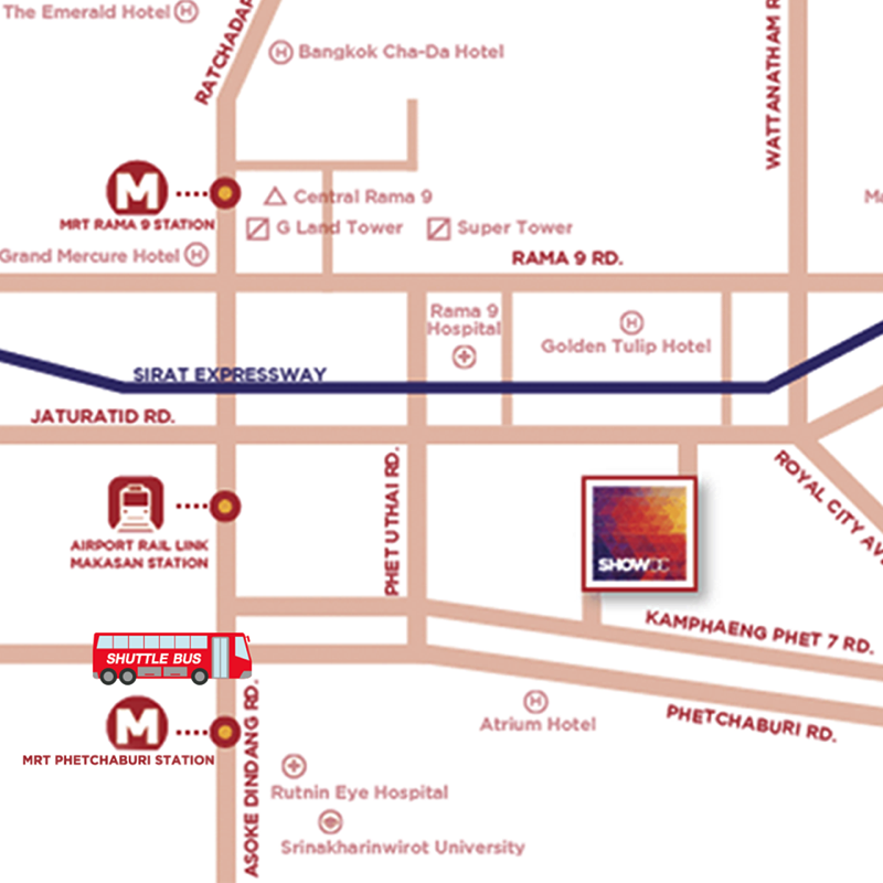Show DC Route MAP2