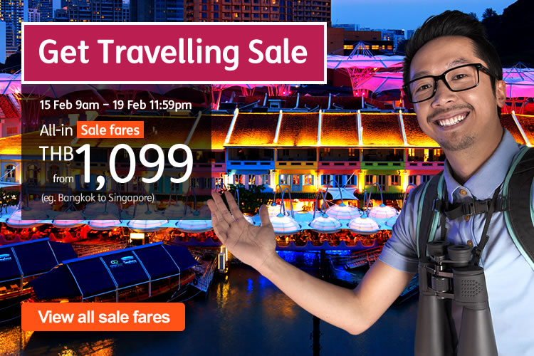 Promotion JetStar Get Traveling Sale Fly Singapore Started 1 099 P01