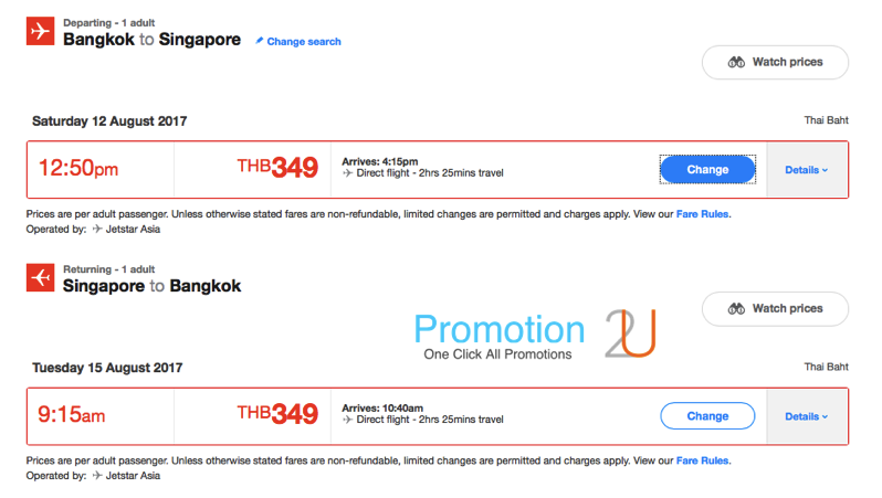 Promotion JetStar Get Traveling Sale Fly Singapore Started 1 099 P04
