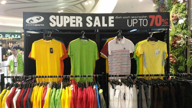 Promotion Supersports Super Sale up to 70 Off  Feb 2017 P12