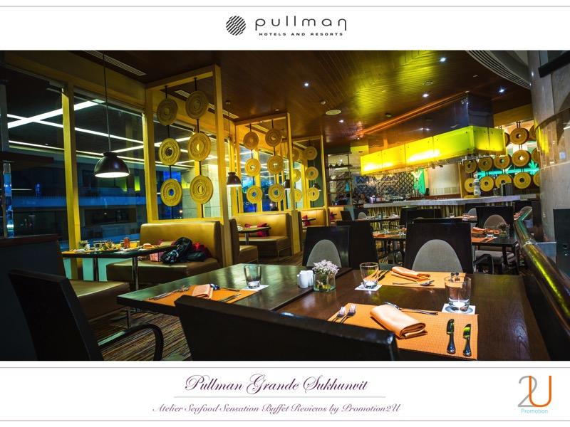 Poster review promotion Buffet Seafood Sensation Altelier at Pullman Grande Sukhumvit 11