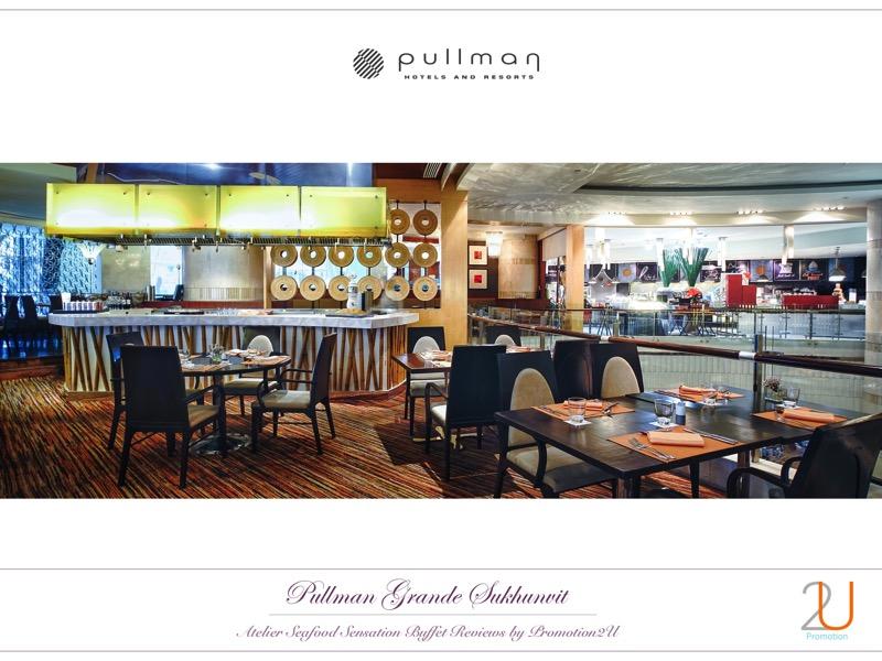 Poster review promotion Buffet Seafood Sensation Altelier at Pullman Grande Sukhumvit 12