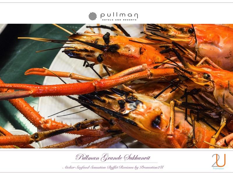 Poster review promotion Buffet Seafood Sensation Altelier at Pullman Grande Sukhumvit 15 1