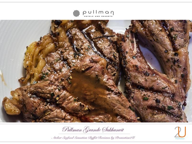 Poster review promotion Buffet Seafood Sensation Altelier at Pullman Grande Sukhumvit 16