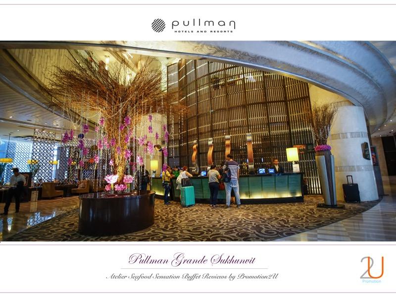 Poster review promotion Buffet Seafood Sensation Altelier at Pullman Grande Sukhumvit p1