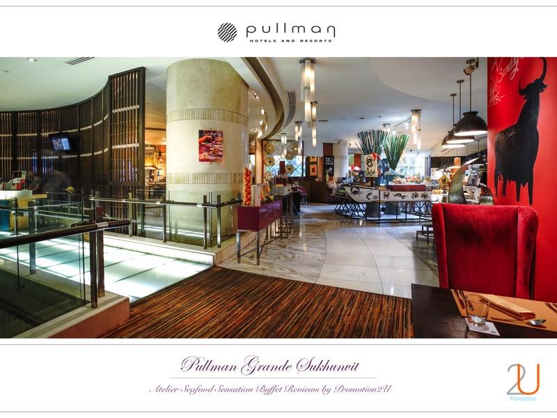 Poster review promotion Buffet Seafood Sensation Altelier at Pullman Grande Sukhumvit p2