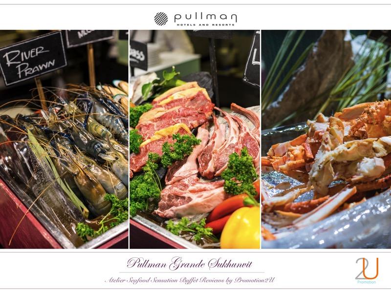 Poster review promotion Buffet Seafood Sensation Altelier at Pullman Grande Sukhumvit p6