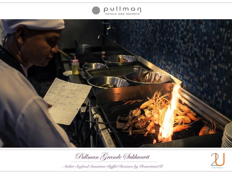 Poster review promotion Buffet Seafood Sensation Altelier at Pullman Grande Sukhumvit p9