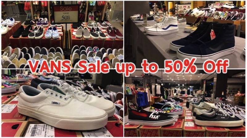 Promotion VANS Sale up to 50% Off @ Central Ladprao [Mar.2017]
