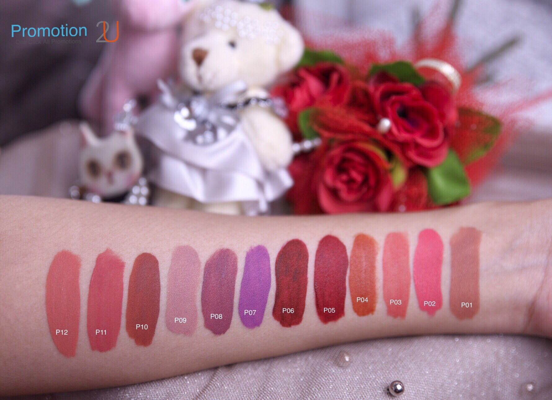 2U Beauty Gratia Perfect Liquid Matte Lips Review