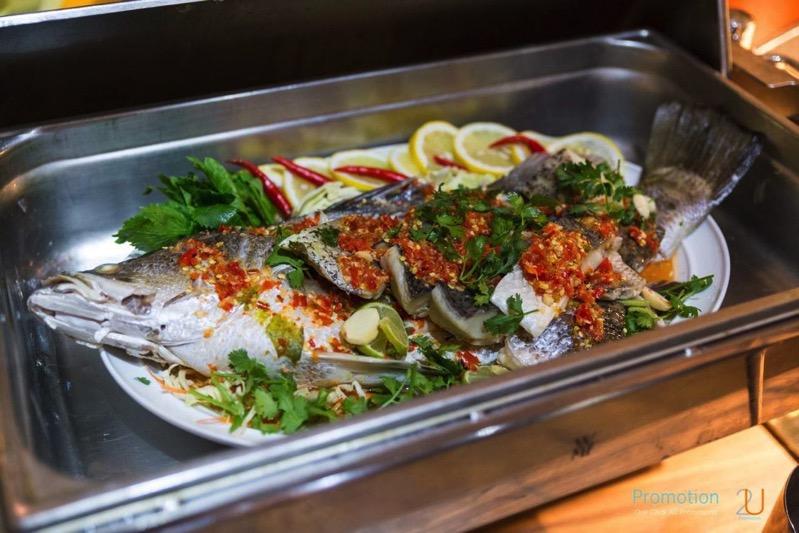 Review promotion Buffet Seafood Sensation Altelier at Pullman Grande Sukhumvit p124