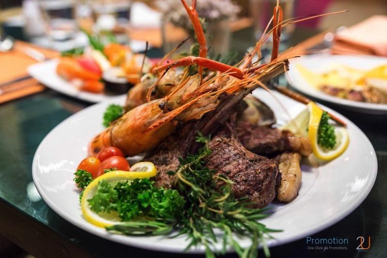 Review promotion Buffet Seafood Sensation Altelier at Pullman Grande Sukhumvit p141