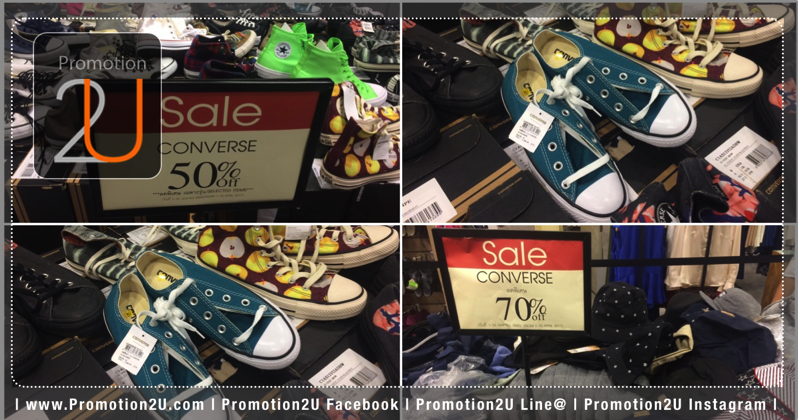 Promotion Converse Sale up to 70 at Central Ladprao P01