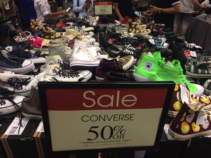 Promotion Converse Sale up to 70 at Central Ladprao P02
