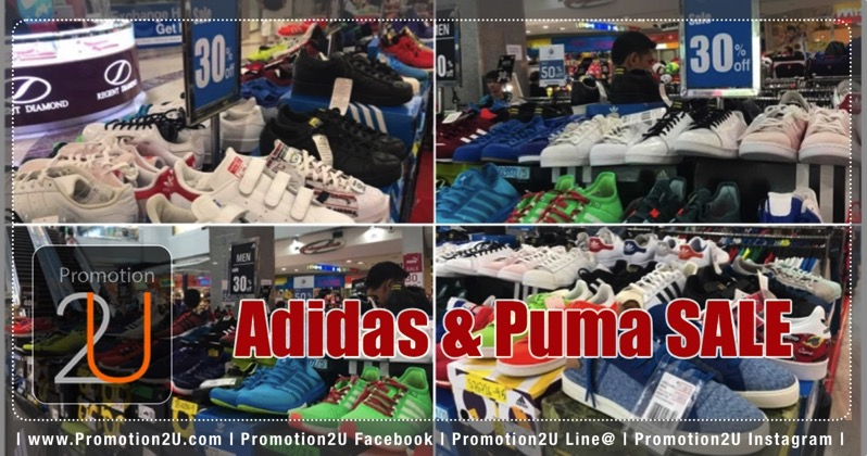Promotion Adidas and Puma Sale up to 50 Off at MBK Center