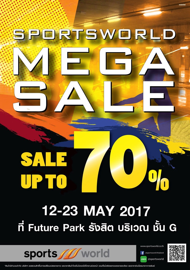 Promotion SportWorld MEGA Sale up to 70 Off P02