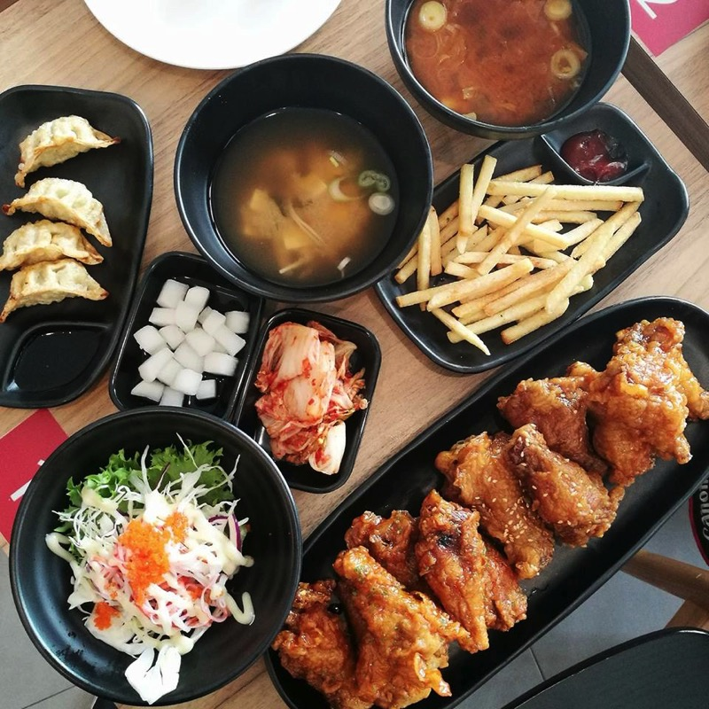 Promotion buffet korean fired chicken wings factory only 279 P04