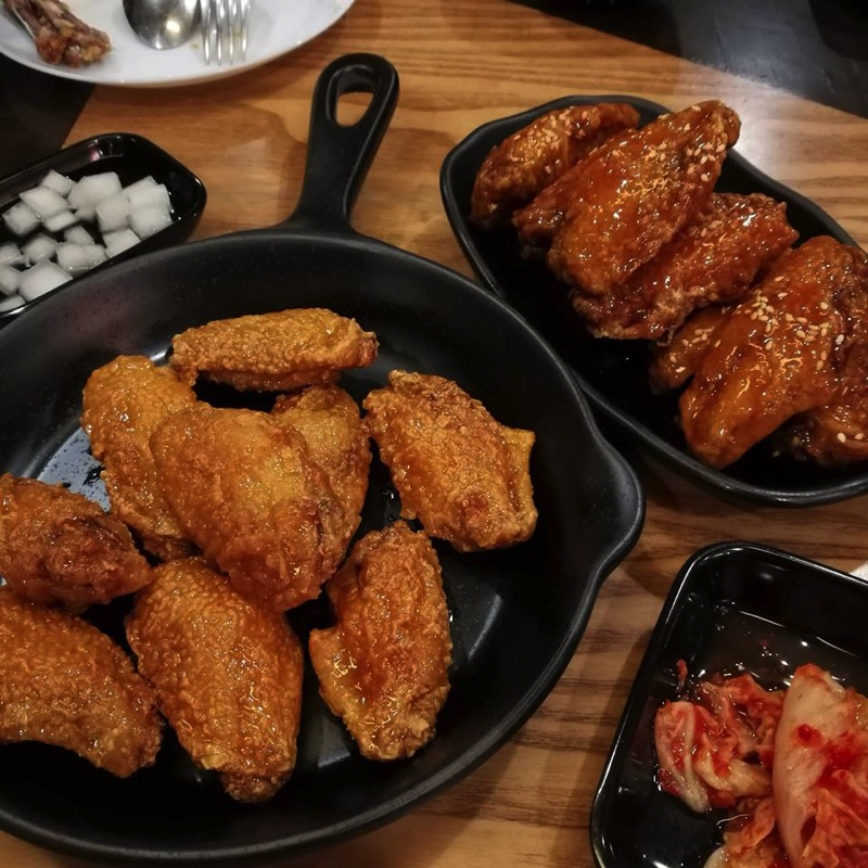 Promotion buffet korean fired chicken wings factory only 279 P11