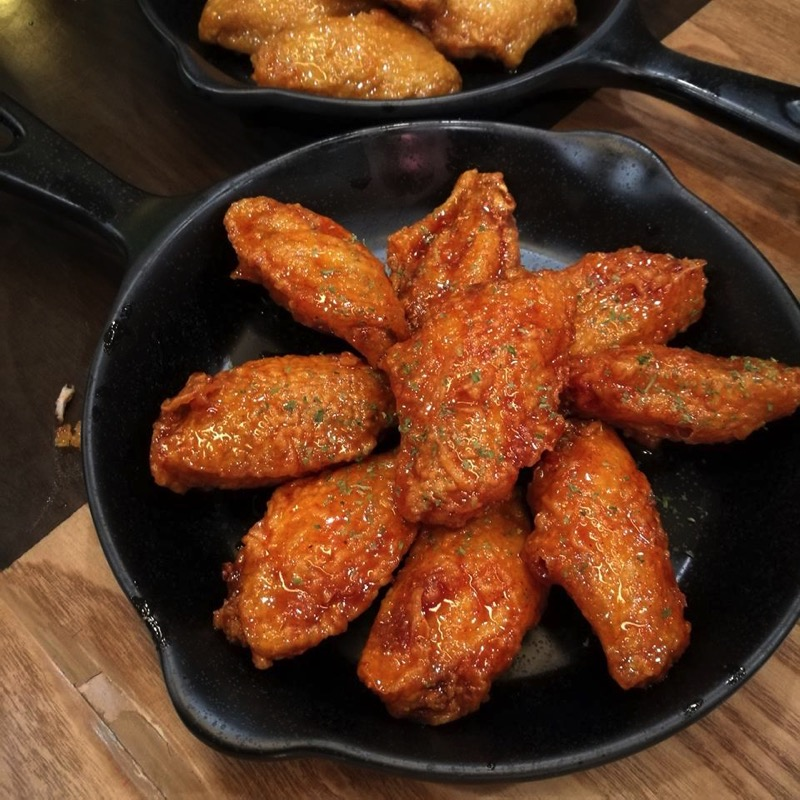 Promotion buffet korean fired chicken wings factory only 279 P12