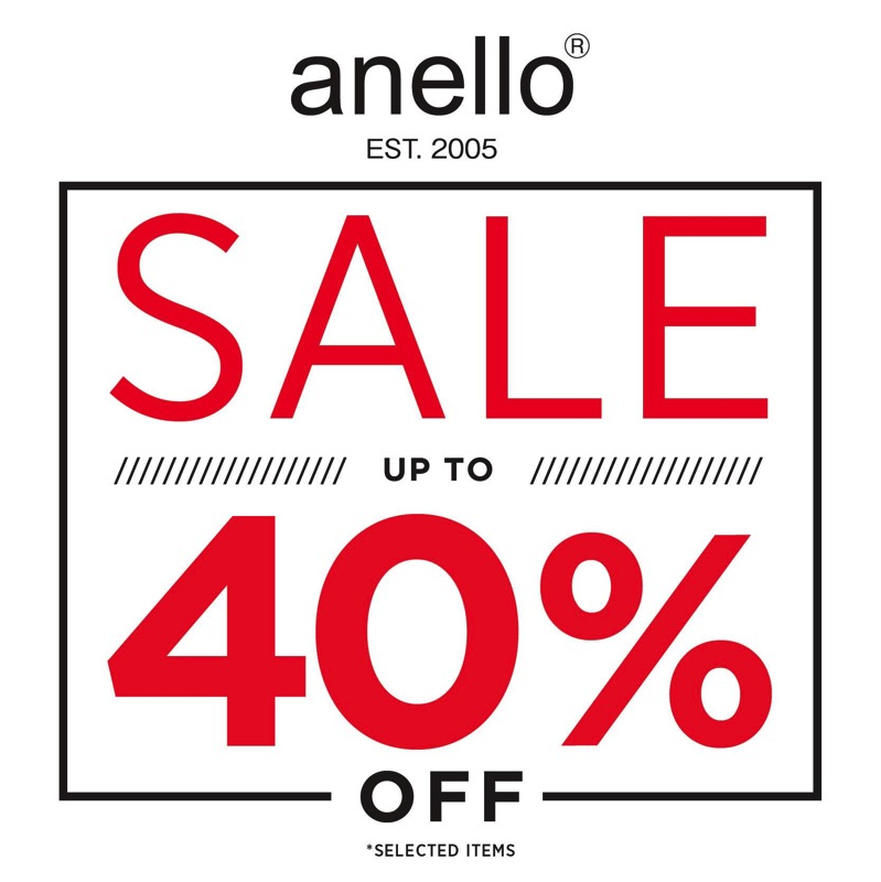 Promotion Anello Official Store End of Season Sale up to 40 Off  June 2017 P01